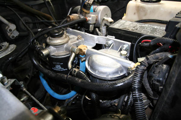 Toyota series 80 fitted with DeBug diesel Unit